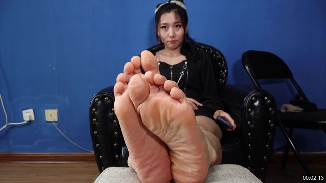 AFKM-0043-【A&F】Sexy asia sole Vietnamese model xiefei`s sex sock foot2 4K
