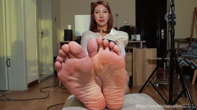 XXQQZ-0008-【A&F系列】New Sexy asia sole Vietnamese model zhongy`s barefoot 4K